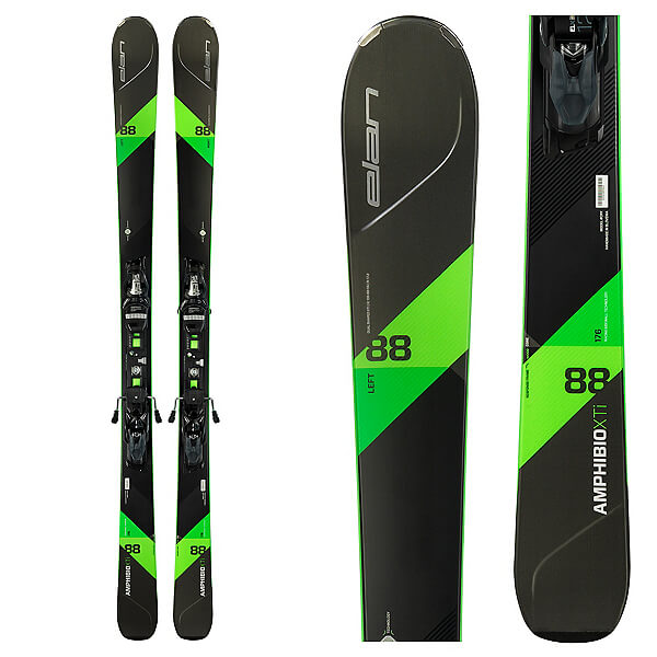 Rent the Elan 88xti Skis in Banff, Alberta.