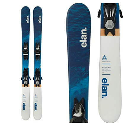 Rent the Elan Pinball Pro Children's Skis in Banff, Alberta.