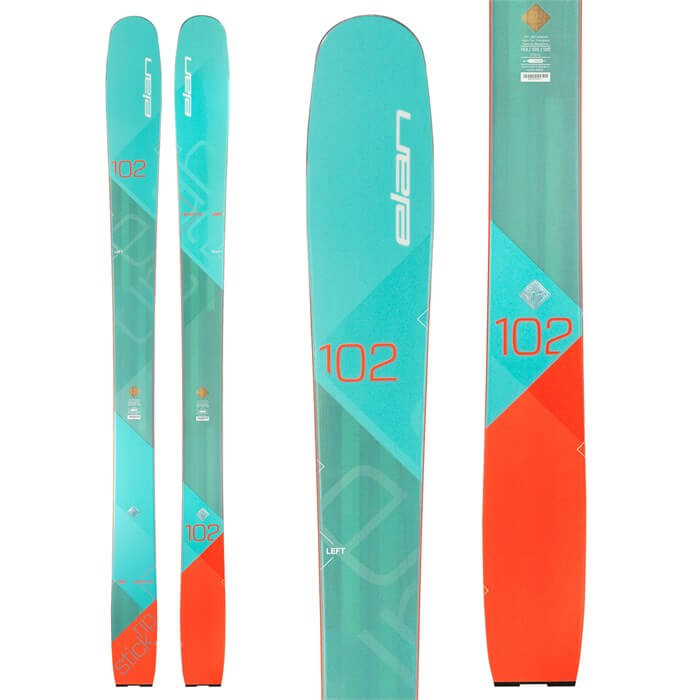 Rent the Elan RipStick 102 Women's Skis in Banff, Alberta.