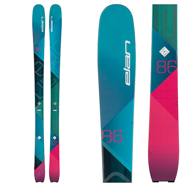 Rent the Elan RipStick 86 Women's Skis in Banff, Alberta.