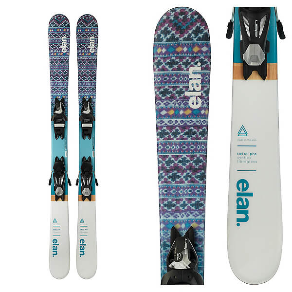 Rent the Elan Twist Pro Children's Skis in Banff, Alberta.